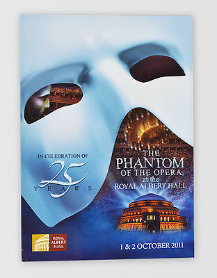 Phantom of the Opera 25th Anniversary SIGNED Souvenir Brochure Programme NEW