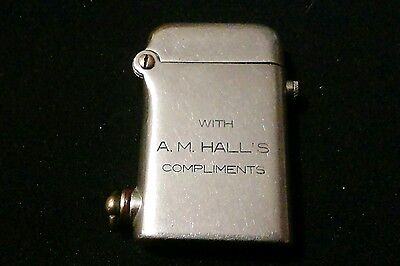 Extremely Rare Vintage Thorens Promotional Lighter British Patent No. 137508