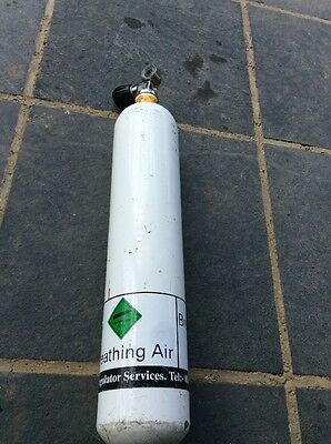 3 L Pony Diving Cylinder By FABER Cylinders 232 Bar NEWLY TESTED HYDRO 2yr cert
