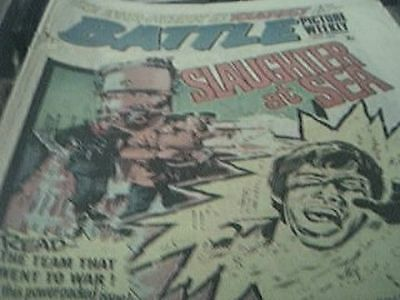 rare battle picture weekly comic may 1st 1976