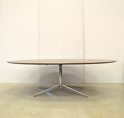 Orig. Florence KNOLL Dining TABLE Konferenztisch WALNUT 1961 Executive Office