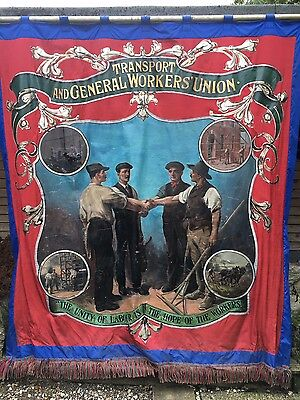 T&g  Unite Transport & General Workers  Trade Union Banner