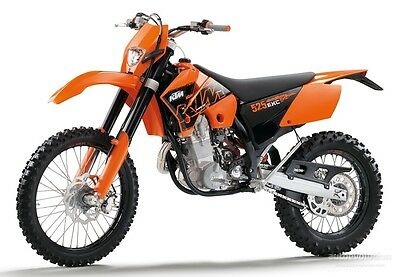 Manuale Officina Ktm Exc 250 450 525 My 2004 Workshop Manual Service E-Mail