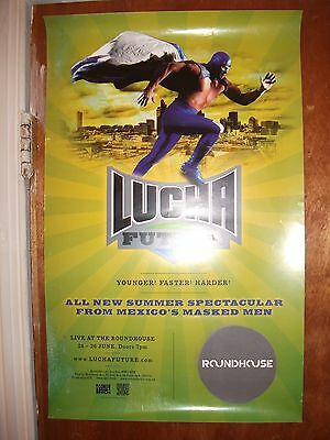 Small Lucha Future wrestling poster (Roundhouse, London)