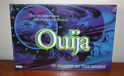 *NEW* Parker Brothers Glow in the Dark Ouija Board 1998
