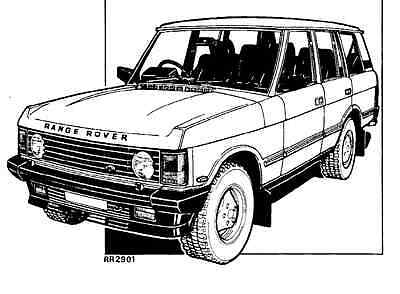 Manuale Officina Land Rover Range Rover My 1986 Workshop Manual Service E-Mail