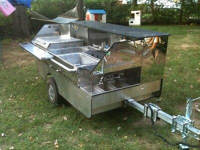 Top Dog Concession Cart Mobile Catering Vending