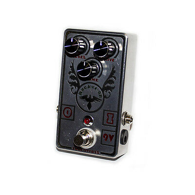 TS808 Tube screamer hand crafted metal engraved keeley mods Made in UK