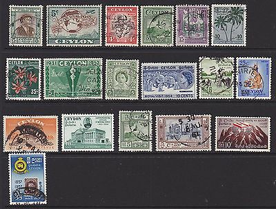 Stamps of Ceylon (Sri Lanka). Early independence.