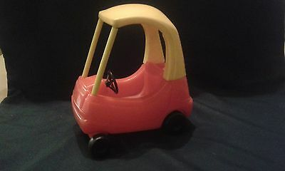 Vintage Dolls House Little Tikes Cosy Coupe