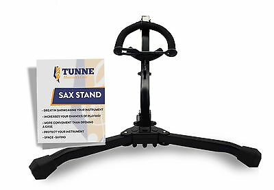 Tunne Saxophone Stand for Alto/Tenor Easily Adjusts to Display and Secure You...