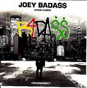 JOEY BADA$$ STICKER DECAL CARD PRO ERA badass b4damoney