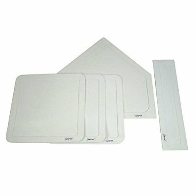 Sunsport 5-Piece Baseball Bases Set - White