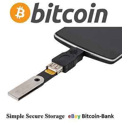 BITCOIN On-The-Go adapter for Android phones Ledger Wallet BTC Crytptocurrency