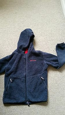 Children's Sprayway  Pile Fleece Top Size 12/13 years Blue