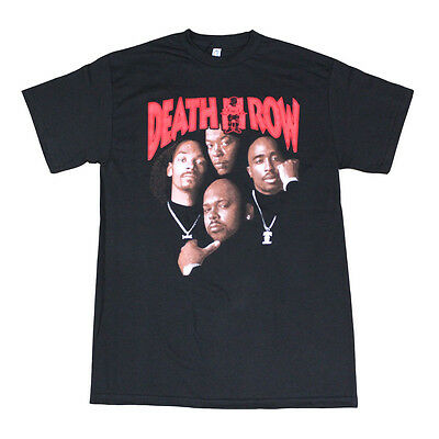 Death Row Records Tupac Dre Poster Men's T-Shirt Black