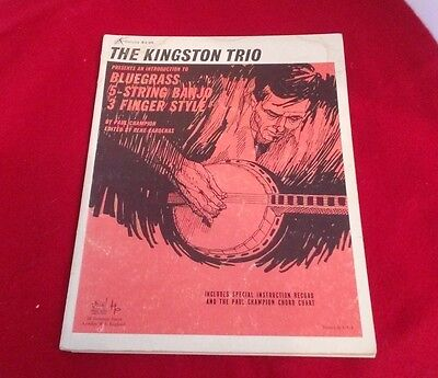 Kingston Trio Presents Introduction To Bluegrass 5-String Banjo 3 Finger Style