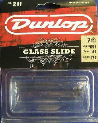 Dunlop Pyrex Small, Heavy Glass Guitar Slide Model 211