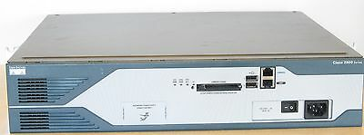 Cisco 2800 Series 2851 Integrated Services Router w/ 64mb Flash & 80GB NM-CE-BP