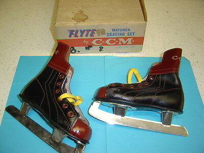 CCM  New Boy,s Hockey Skates  Size 8 from the 1960.s