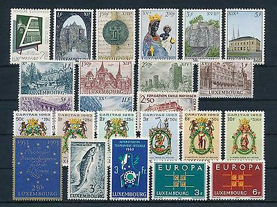 [34445] Luxembourg Luxemburg 1963 Complete Year Set  MNH