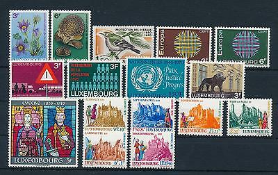 [34452] Luxembourg Luxemburg 1970 Complete Year Set  MNH
