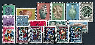 [34454] Luxembourg Luxemburg 1972 Complete Year Set  MNH