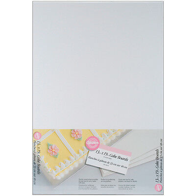 Wilton 13 x19 Cake Boards, Rectangle 6 Ct. 2104-552