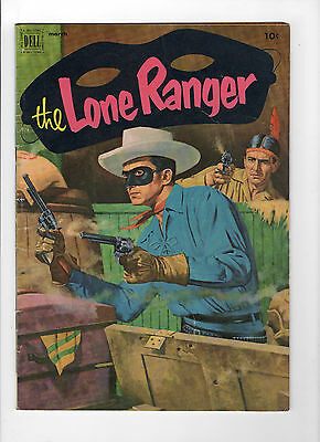 The Lone Ranger #45 (Mar 1952, Dell) - Very Good