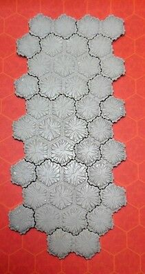 42 Hexes of Heroscape Concrete Terrain