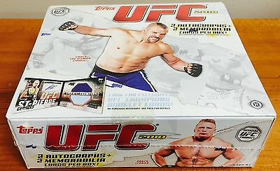 2010 Ufc Topps Hobby 16 Pack Box Mma Ultimate Fighting 2 Autos 2 Memorabilia