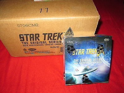 Star Trek TOS 50th Anniversary Sealed Case Cards Rittenhouse Autographs Sketch