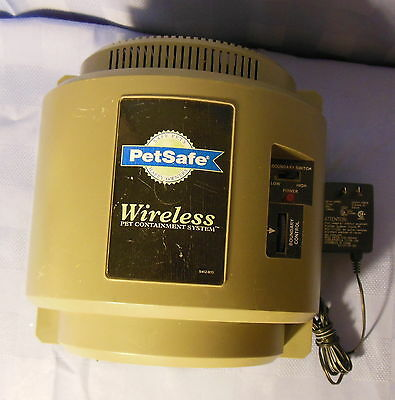 Petsafe Wireless Dog Fence Transmitter Containment System If-101 & Power Adapter