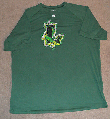 New York Lizards MLL Lacrosse Warrior Training Shirt Large Jersey Long Island