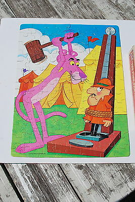 Vintage 1975 Whitman Pink Panther Puzzle 100 pieces - Complete