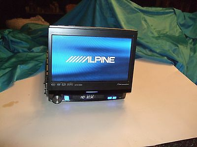 Alpine IVA-D310 7 inch Car Stereo/DVD Player-In Dash unit -no amp or cables