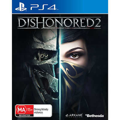 Dishonored II 2 PS4 **Brand New Sealed** Sony Playstation 4 AUS GAME