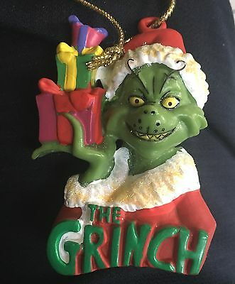 Dr Suess' How The Grinch Stole Christmas Ornament NEW 2009 Kurt Adler Universal