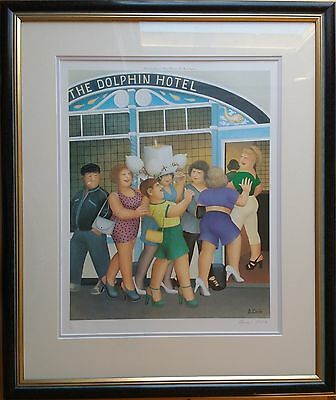 Beryl Cook, Original Pencil Signed Limited Edition Fine Art Print 'hen Night'.