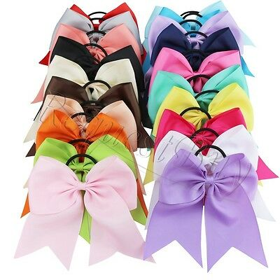 Lot/20pcs Mixed Toddler Infant Baby Girls Grosgrain Ribbon Bow Headband Hairband