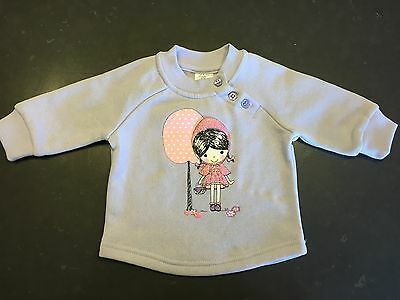 Baby Girls Baby Berry Mauve Jumper Size 000 New Condition