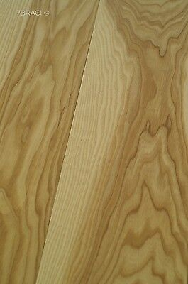 Full of grain Natural Ash Engineered Floor Oiled 180mm wide E15F67