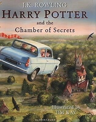 Harry Potter And The Chamber Of Secrets: Illustrated Edition (Harry Potter