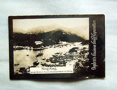 Early CHINA  about 1900 real photographic HONG KONG card by OGDENS