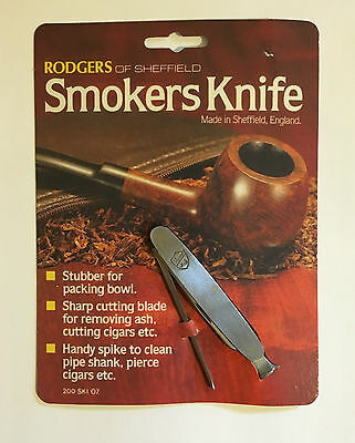 Rodgers Of Sheffield Smokers Pipe Tool Brand NEW