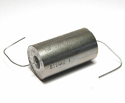 Component Research Precision MIL Capacitor, 1 MFD / 1% / 50 V, Glass Sealed, NOS