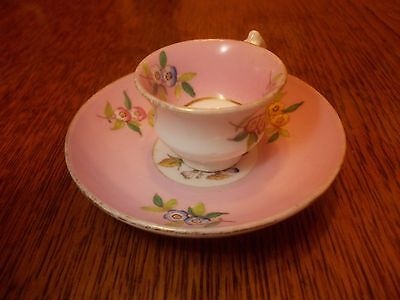 Vintage Miniature Cup and Saucer Set