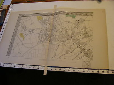 Bacon's London 1880's map #16, Stratford, West Ham, Tratford New Town