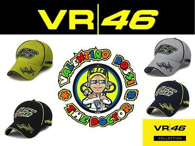 Valentino Rossi The Doctor VR46 Moto GP hat baseball cap Official