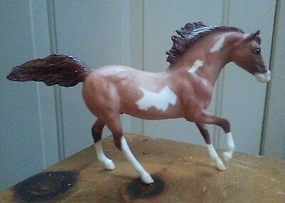 Breyer classic Andalusian Stallion 684 red roan Pinto